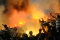 Eintracht Pyro in Nürnberg