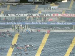 """""""Keine Macht den Chaoten."""" (Bild: http://sg-eintracht-frankfurt.jimdo.com)"""