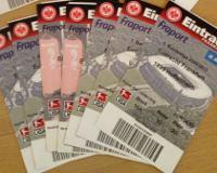 Tickets für die Eintracht sind begehrt. Und auf dem Schwarzmarkt manchmal völlig überteuert.