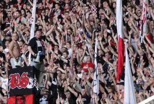 Eintracht Fans Auswärts