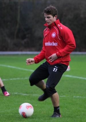 Pirmin im Training. (Bild: Eintracht-Online.net)