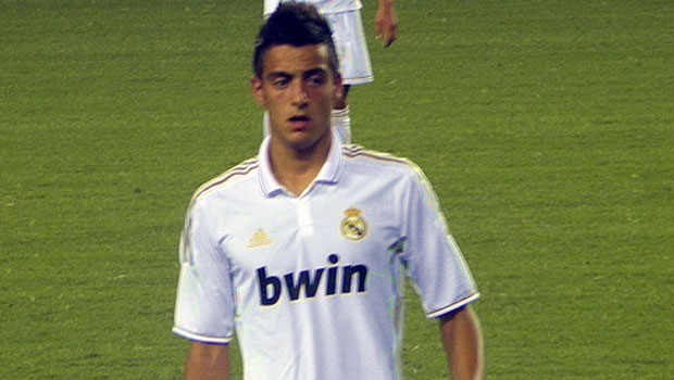Joselu, hier noch in Diensten Real Madrids, kommt zu Eintracht Frankfurt. (Bild: (Lynsey Ayers, Wikipedia)