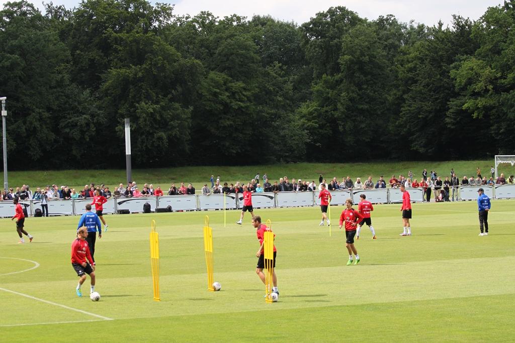 Eintracht im Training (Bild: Eintracht-Online)