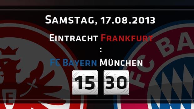 Eintracht Frankfurt Bayern München 2013