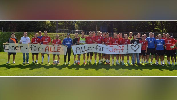 Eintracht Frankfurt wünscht Jeffrey alles Gute.
