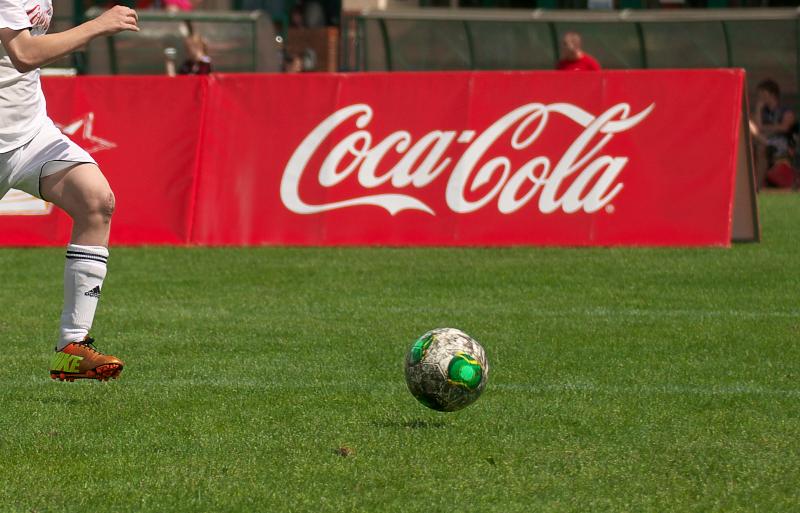 CocaCola-Fussball