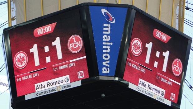 Frankfurt 1 - 1 Nürnberg (Bild: eintracht-online.net)